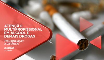 Pós-Graduação em Atenção Multiprofissional em Álcool e Demais Drogas tem na Unipar EAD em Dourados