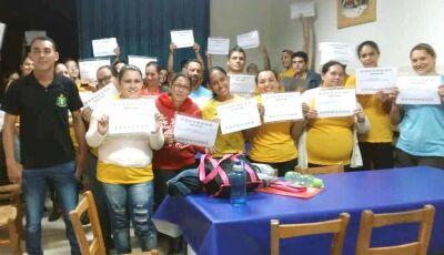 Kagiva promove Curso de Ginástica Laboral para seus funcionários em Vicentina