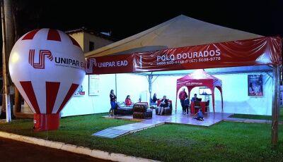 Unipar EAD esteve presente na maior Feira Internacional do Agronegócio 'EXPOAGRO' em Dourados