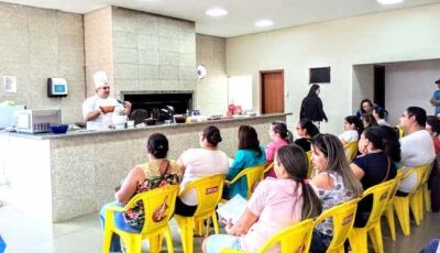 Festa Mania traz chefe de Pãtissier da Selecta para curso em Fátima do Sul