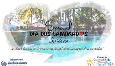 Fátima News lança campanha do Dia dos Namorados e sorteará 2 diárias para o Campo Belo Resort