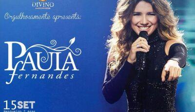 Paula Fernandes é anunciada por empresários da Divino Hamburgueria para show em Glória de Dourados