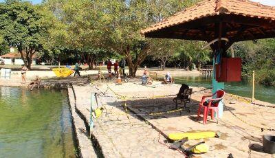 Balneário Municipal está fechado para obras de manutenção, reformas e revitalização em Bonito (MS)