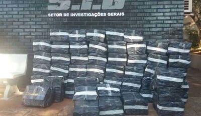 Polícia encontra depósito com mais de 1t de maconha em Dourados