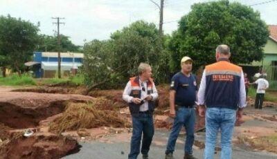 Deodápolis tem situação de emergência decretada pelo Governo do Estado