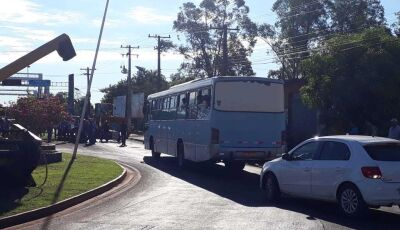 No 4º dia de protesto, movimento engrossa fileiras e rodovia continua fechada em Fátima do Sul