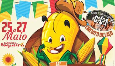 Jateí: Circuito do laço comprido, shows e comidas típicas vão movimentar tradicional festa do milho
