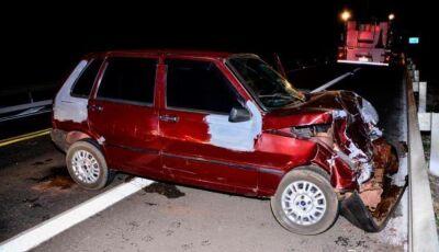 Condutor embriagado é preso após causar acidente na BR-267 em Bataguassu