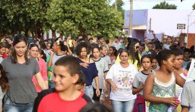 População de N. Andradina e N. Casa Verde saem às ruas contra violência sexual infanto juvenil