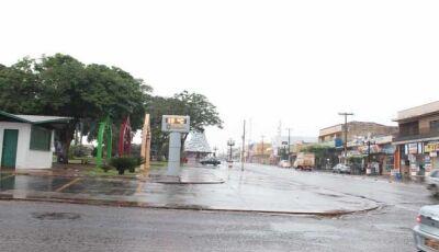 Sexta-Feira de Chuva, baixando temperatura em Fátima do Sul