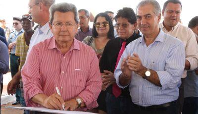 Onevan acompanha Reinaldo em entrega de obras e agradece atendimento de pleitos aos municípios