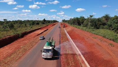 Sonho começa se tornar realidade, pavimentação deve ser concluída neste mês entre Jardim e Bonito