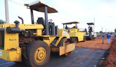 Governo do MS assina mais R$ 1,2 milhão em contratos de novos investimentos em asfalto