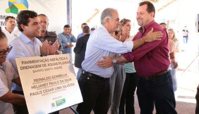 Governo do Estado anuncia 377 casas e entrega R$ 2 milhões em asfalto em Ribas do Rio Pardo