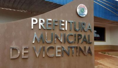 Prefeito decreta situação de emergência e suspensão de serviços em Vicentina