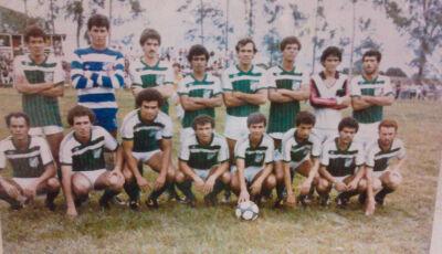 Foto do Dia: Associação Atlética Vicentinense dos anos 80 conhecida como 'Dream Team Vicentinense'