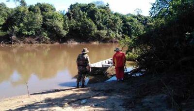 Encontrado o corpo da mulher de 43 anos desaparecida no Rio Miranda