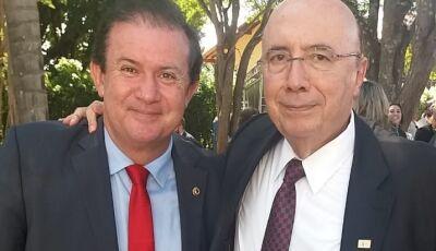 Deputado Eduardo Rocha apoia pré-candidatura de Henrique Meirelles para presidência do Brasil