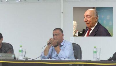 Márcio Teles pede emenda ao Senador Pedro Chaves em beneficio de Escola Municipal em Deodápolis