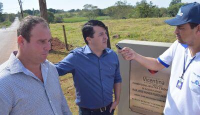Vicentina aparece como a melhor do Estado do MS em saúde pública, prefeito comemora