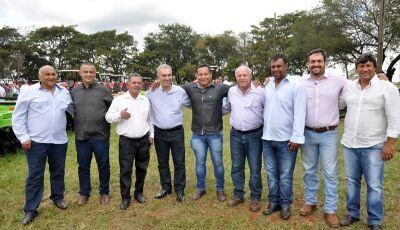Deodápolis recebe 3 patrulhas mecanizadas e prefeito, vice e vereadores destacam ações de Reinaldo