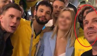 """Terceiro homem que assediou russa na Copa diz que """"estão transformando um copo d'água em uma tempest"""
