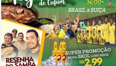 1ª Feijoada do Cupim acompanhada com 'Resenha do Samba' e jogo da seleção em Fátima do Sul