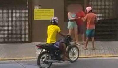 Homens armados com faca tentam roubar casal em Glória de Dourados