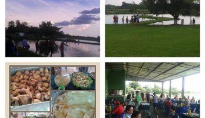 Vicentina: Caldo de peixe por conta do Pesqueiro 7 Bello na hora do jogo, antes tem delícioso almoço