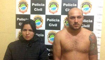 Preso em Rio Brilhante o casal acusado de atentado contra prefeito de Paranhos