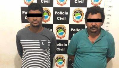 Polícia Civil identifica e prende acusados de furto de gado na região de Nova Andradina