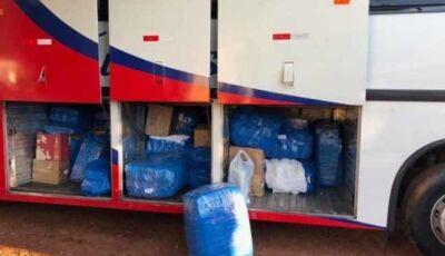 PM de Ipezal apreende mais de cinco mil itens importados ilegalmente do Paraguai