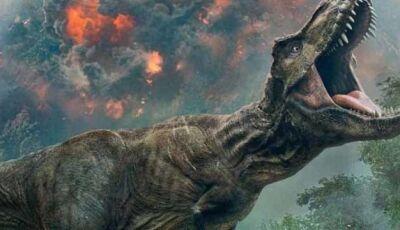 'Jurassic World: Reino Ameaçado' arrecada US$ 40 milhões em 2 dias