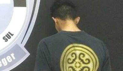 Irmão de jovem assassinado a tiros em Nova Andradina é preso em Vila Amandina