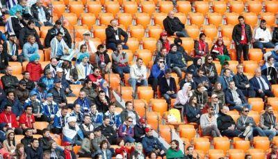 Fifa investiga razões para 6 mil lugares vazios durante Uruguai x Egito