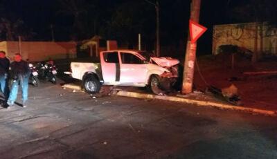 Após acidente, trio que roubou Hilux  e R$ 100 mil é preso pelo Choque