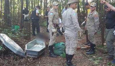 Corpo resgatado teve pênis decepado e foi deixado de cabeça para baixo em poço