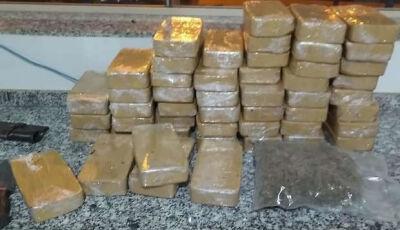 Polícia apreende cocaína avaliada em R$ 1 milhão em Dourados