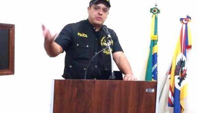 Cabo Joseval de Fátima do Sul recebe título cidadão Gloriadouradense