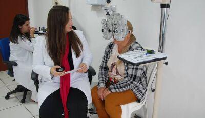 Saúde realiza exames oftalmológicos gratuitos a população até esta quinta-feira em Jateí