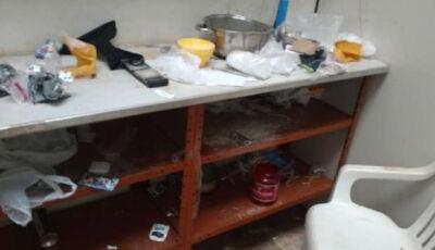 """Polícia faz operação contra o tráfico e estoura """"laboratório"""" no Canaã I"""