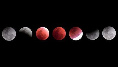 Show no céu: hoje tem Lua de Sangue, eclipse e Marte mais perto