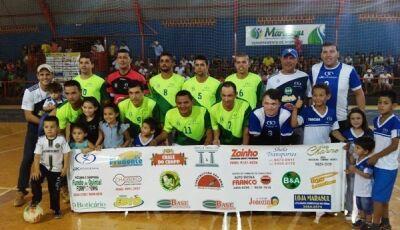 Fátima do Sul, Jateí, Glória e Deodápolis já confirmados na 23ª Copa Pindorama de Futsal