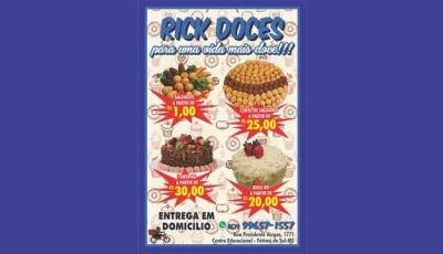 Sexta feira do pão é no Rick Doces em Fátima do Sul