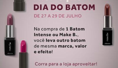 O Boticário com grande promoção de batons e outros produtos, CONFIRA em Fátima do Sul