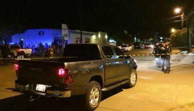 Troca de tiros deixa 3 pessoas feridas na fronteira