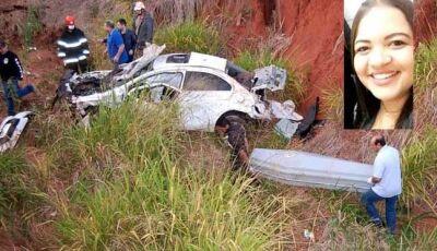 Mulher morre vítima de grave acidente ocorrido em Nova Andradina