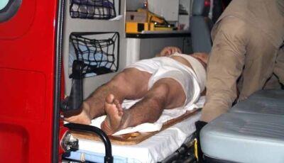 Ao mesmo tempo, bombeiros atendem homem esfaqueado e bebê engasgado em Nova Andradina