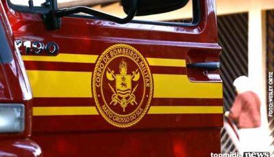 Idosa ameaça incendiar filha e corpo de bombeiros é acionado
