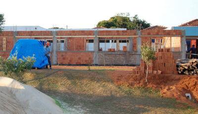 Obra do Centro de Educação Infantil esta em andamento em Jateí